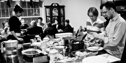 Supper at L'Arche
