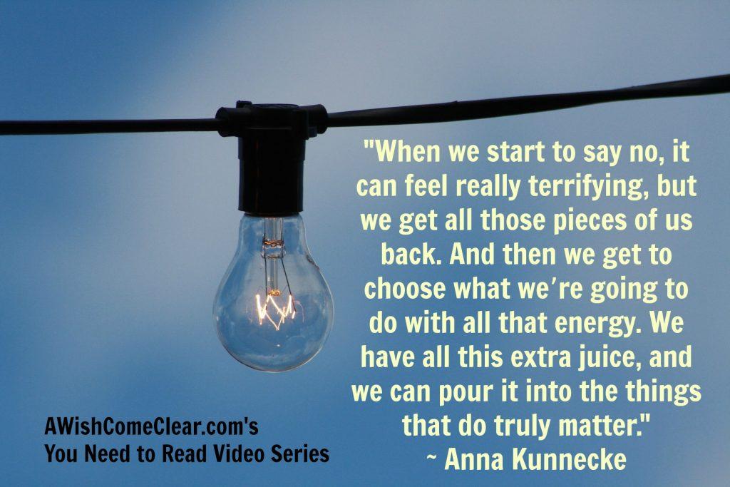 Set Boundaries Gain Energy