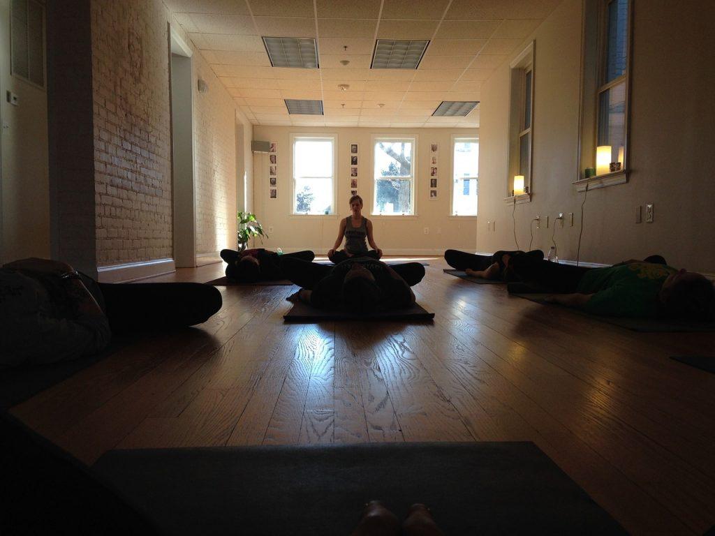 Surrender to Stillness, yoga