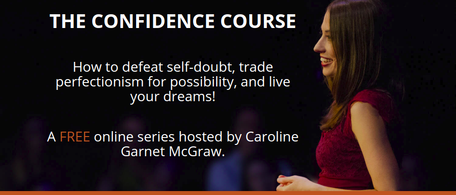 overcoming perfectionism The Confidence Course