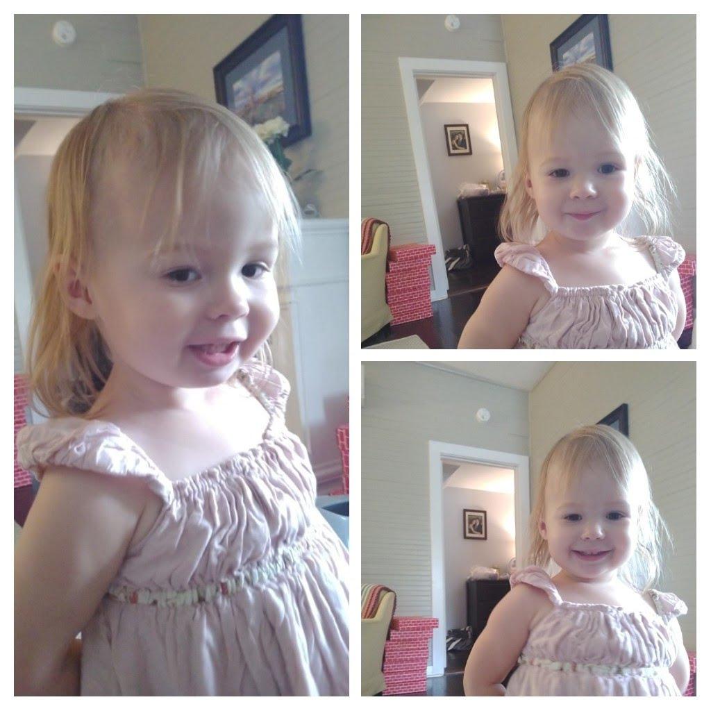 Toddler collage
